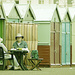 People Watching: Brighton Beach Huts