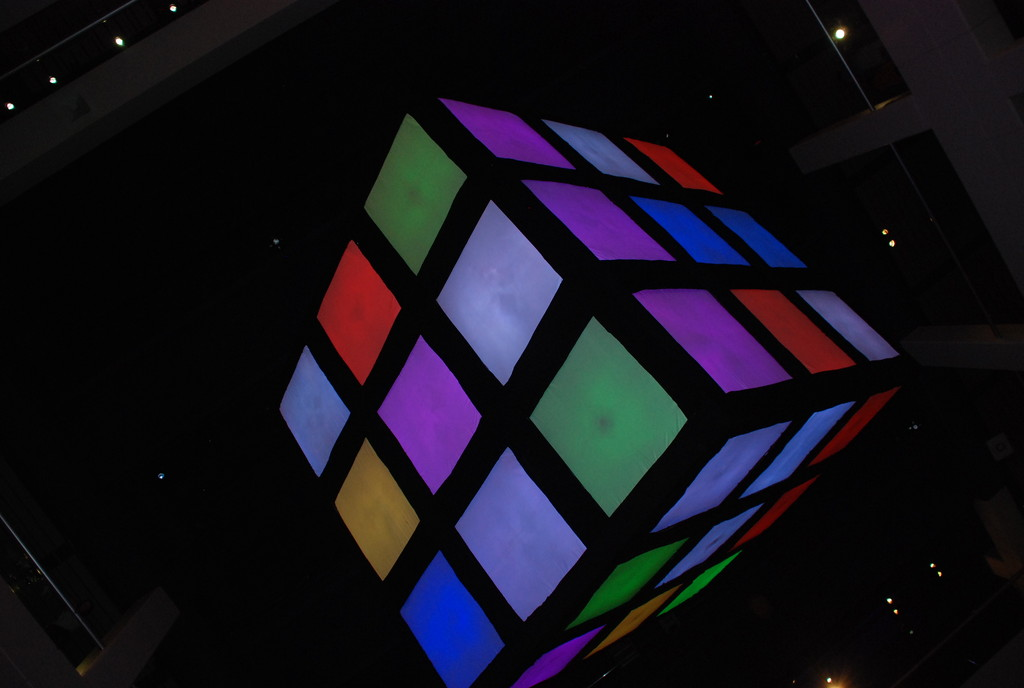 July 18 2014 The Cube from Below by mgbio