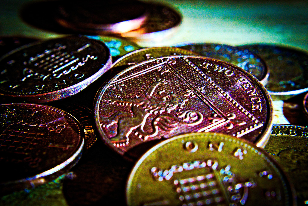 Pennies make pounds. by aldo1471