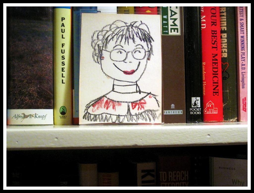 Shelf Portrait by allie912