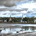 Mahone Bay ... Low Tide before a Full Moon by Weezilou