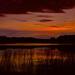 Sunset at Barney's Lake, Version One by jyokota