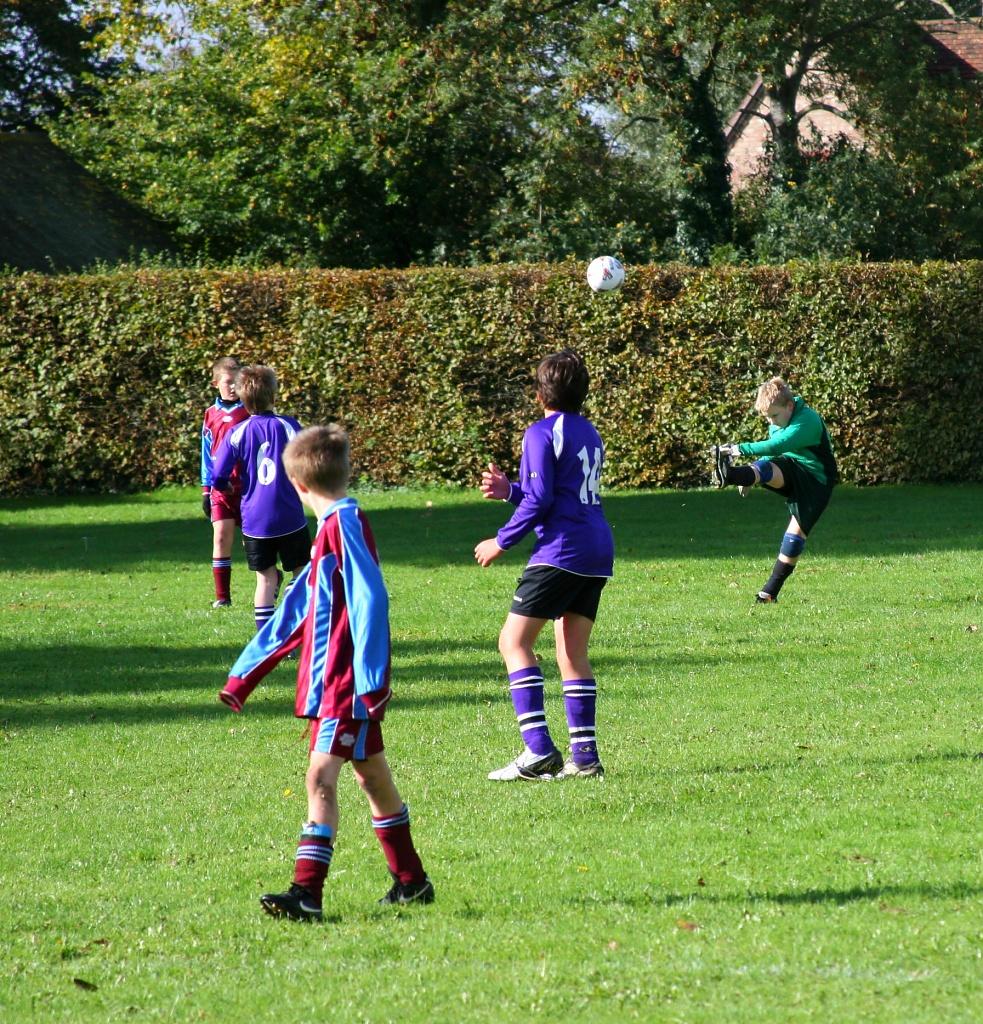Goal Kick by helenmoss