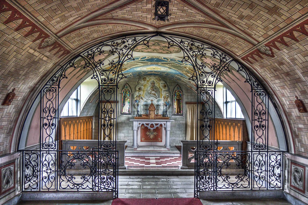 The Italian Chapel. by gamelee