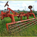An Old Ploughing Implement