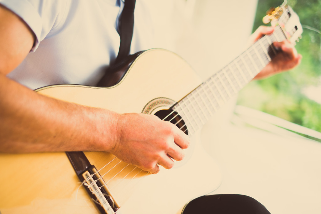 Spanish Guitar by vikdaddy