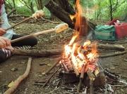 21st Aug 2014 - Campfire bread