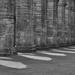 Fountains Abbey shadows