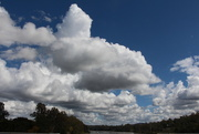 26th Aug 2014 - Clouds over River