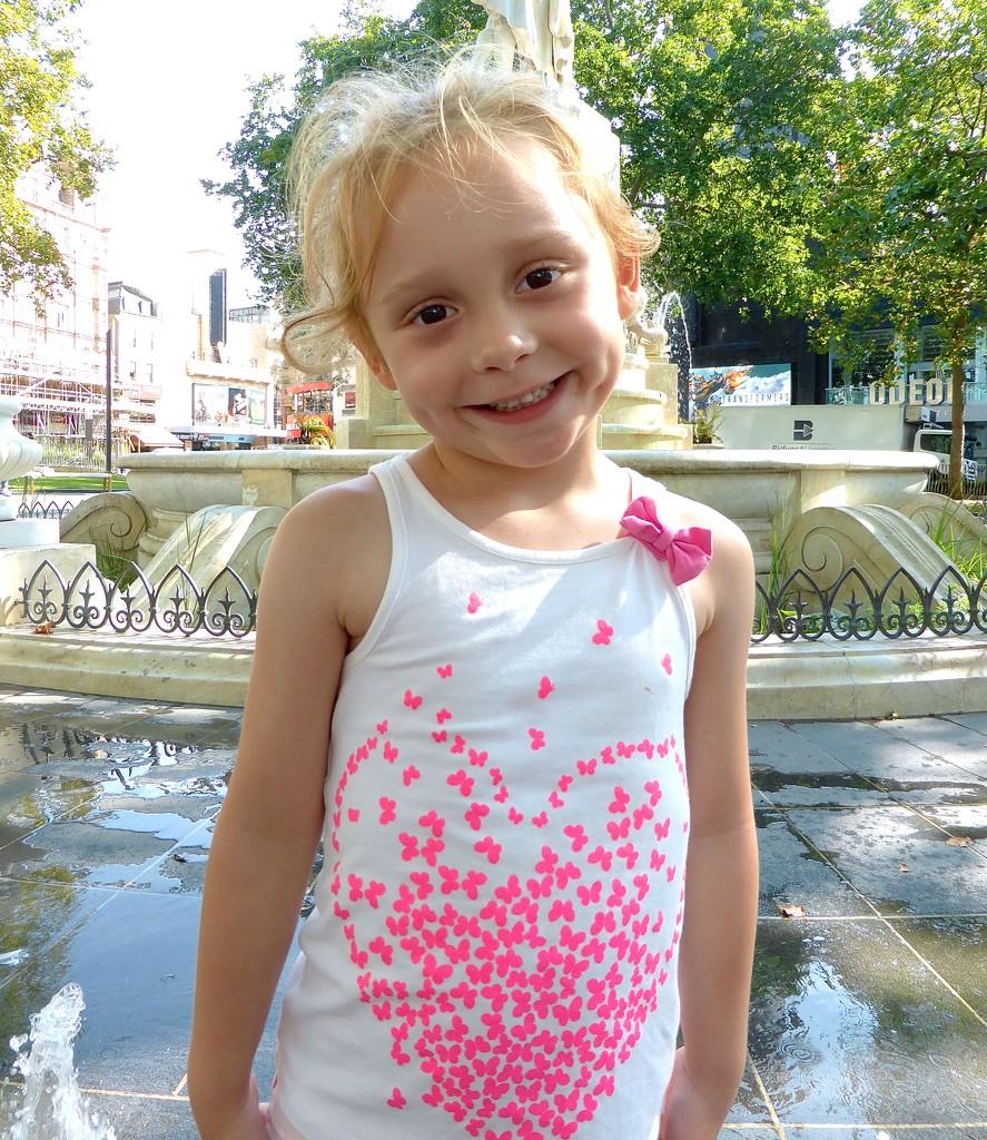 My darling granddaughter Bella by kjarn