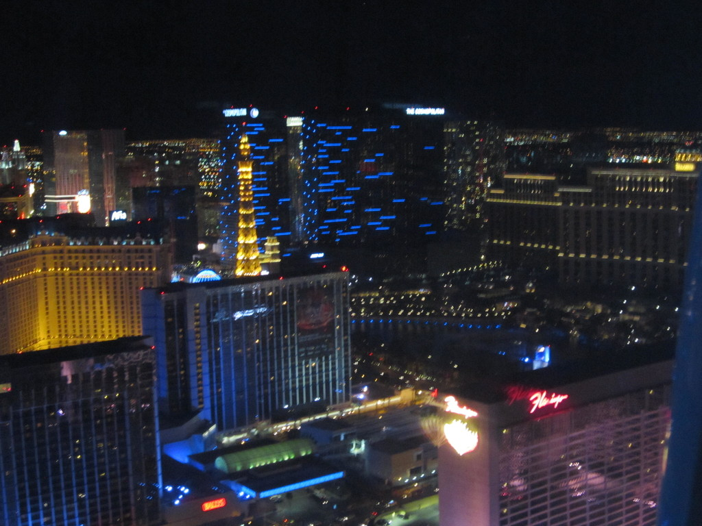 Vegas from the High Roller. by pamelaf
