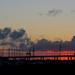 Sunset over the City Marina and Ashley River, Charleston, SC by congaree