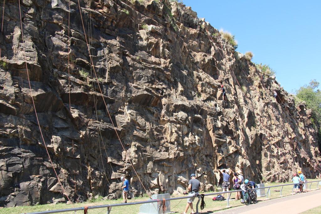My Brisbane 44 - Kangaroo Point Cliffs by terryliv
