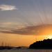 sunset over Hvar