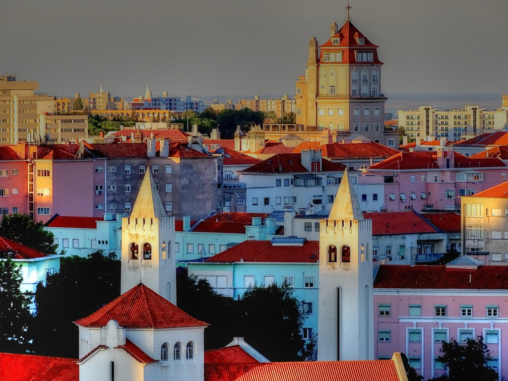Portuguese Rooflines by maggiemae