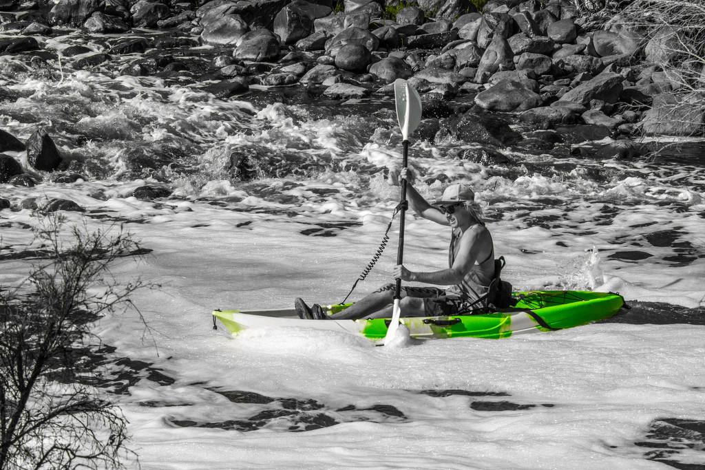 Kayaking on Avon River by gosia
