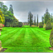 The Formal Garden,Castle Ashby,Northampton