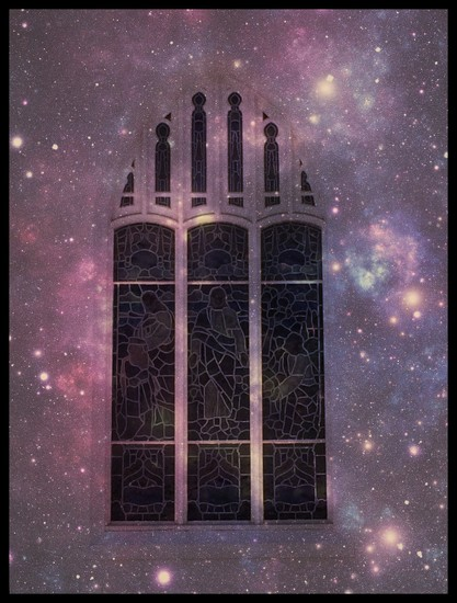 Church Window by darsphotos