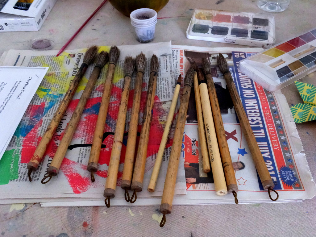 It's A Messy Job.. by linnypinny