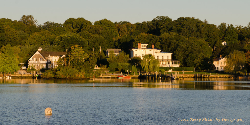 Bright morning on the cove by mccarth1