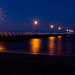 Shorncliffe Pier by night