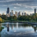 A Reflective Chicago  by taffy