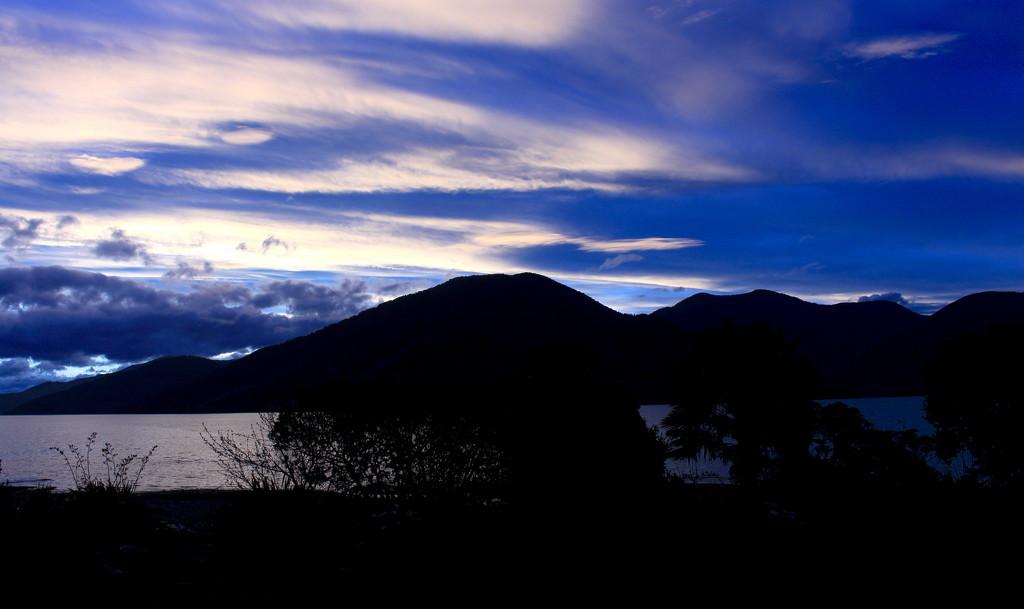 Blue light by kiwinanna