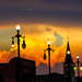 Sun sets on Basin Street by danette