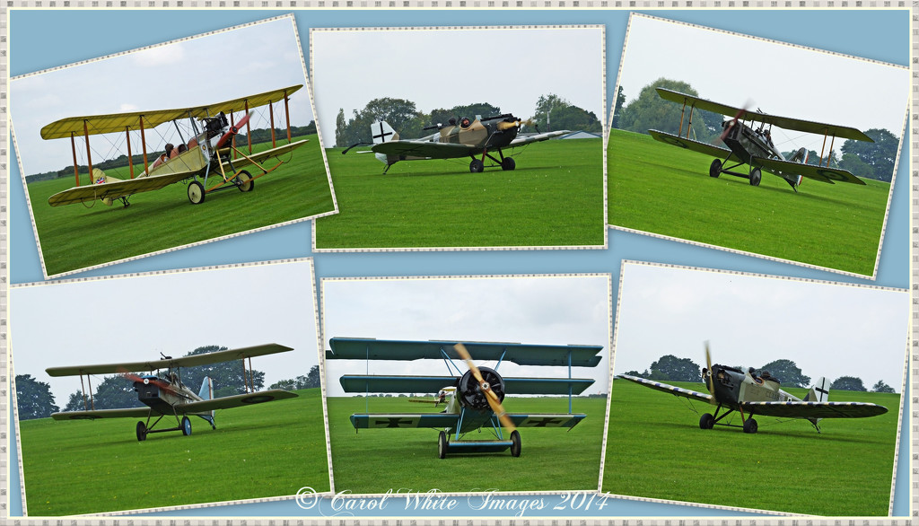 Planes Of WW 1,Sywell Aerodrome,Northampton by carolmw