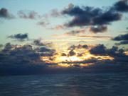1st Oct 2014 - Sunrise over the Atlantic