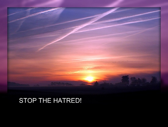 Stop The Hatred by digitalrn