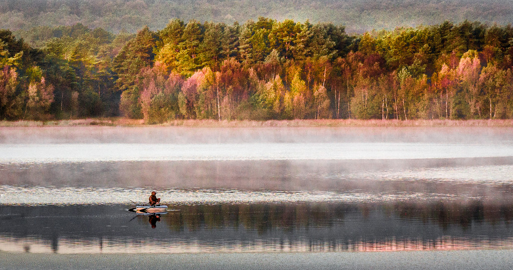 Fall Fisherman by vignouse
