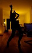 11th Oct 2014 - Dance like nobody's watching...