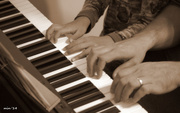 11th Oct 2014 - Piano Four Hands