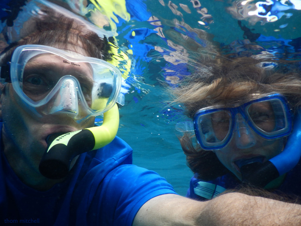 First time snorkeling! by rhoing