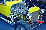 14th Oct 2014 - Yellow hot rod