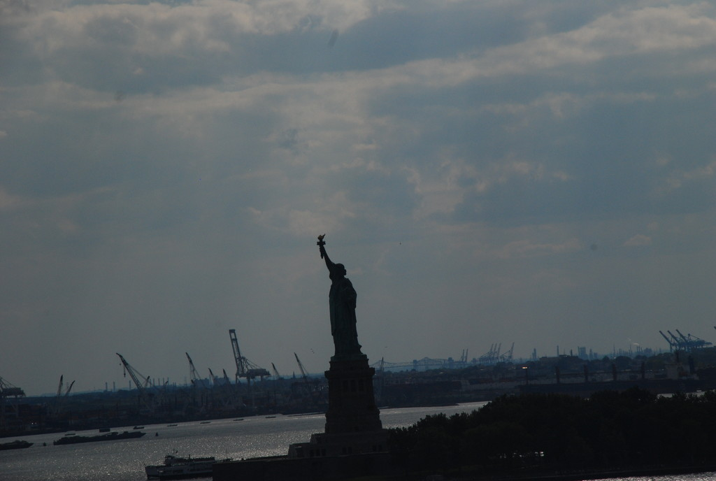 October 7 2014 Lady Liberty by mgbio