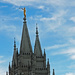 Spires of the Salt Lake Temple