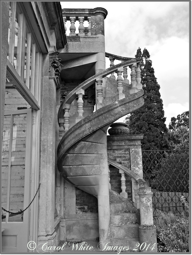 Spiral Staircase,Castle Ashby,Northampton by carolmw