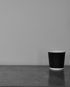 21st Oct 2014 - Lone espresso