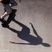 Just me, my board, my shadow by flyrobin