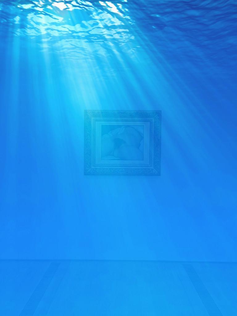 "L'origine du monde"", Gustave Courbet. Underwater version. by cocobella"