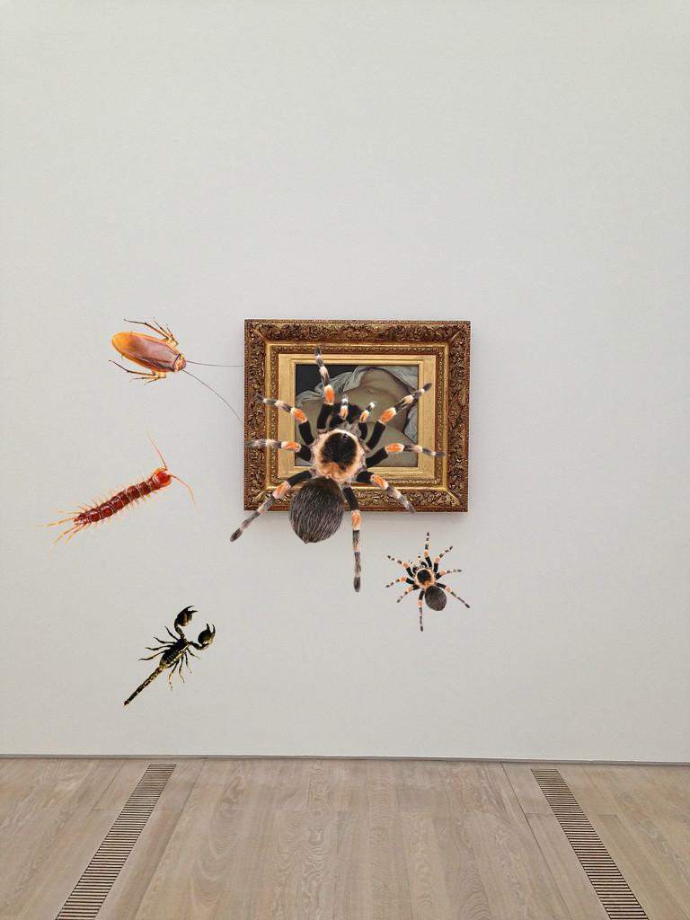 L'origine du monde, Gustave Courbet. Bugs version. by cocobella