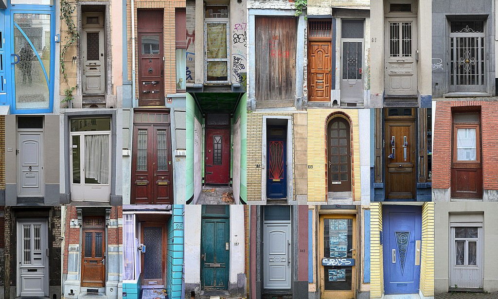 Doors of Brussels by kareenking