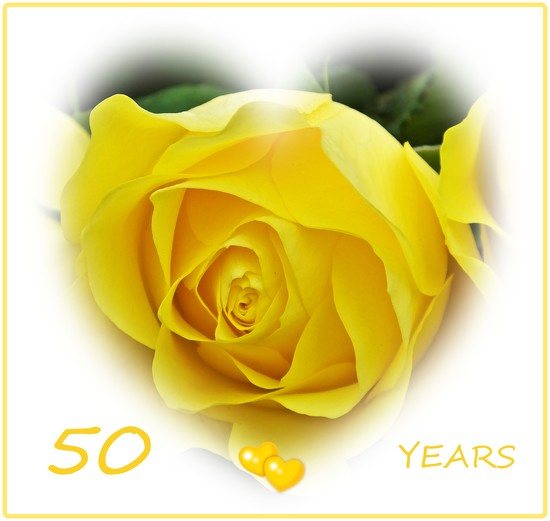Golden Wedding Anniversary by carolmw