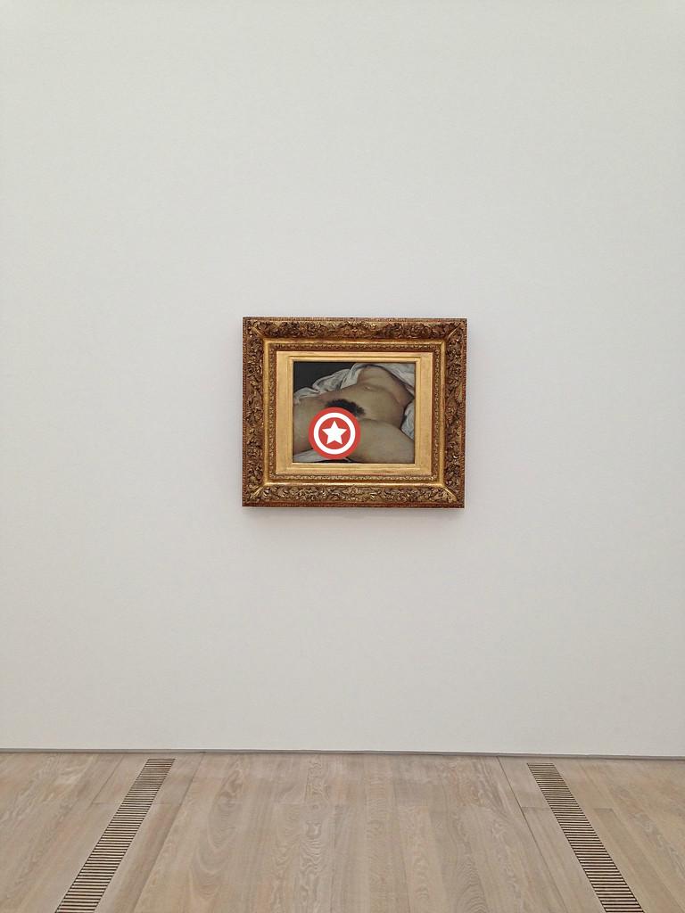 L'origine du monde, Gustave Courbet. Star version. by cocobella