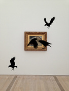 24th Oct 2014 - L'origine du monde, Gustave Courbet. Ravens flight version.