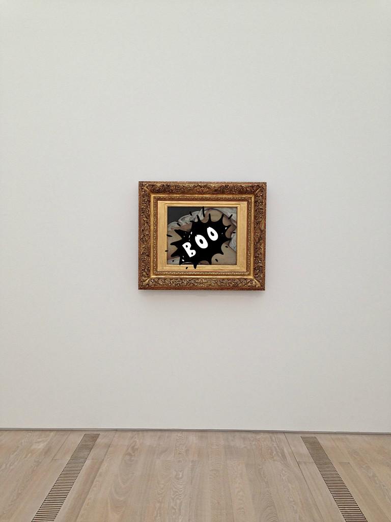 L'origine du monde, Gustave Courbet, Boo version. by cocobella