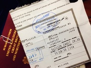 23rd Oct 2014 - Travel time!