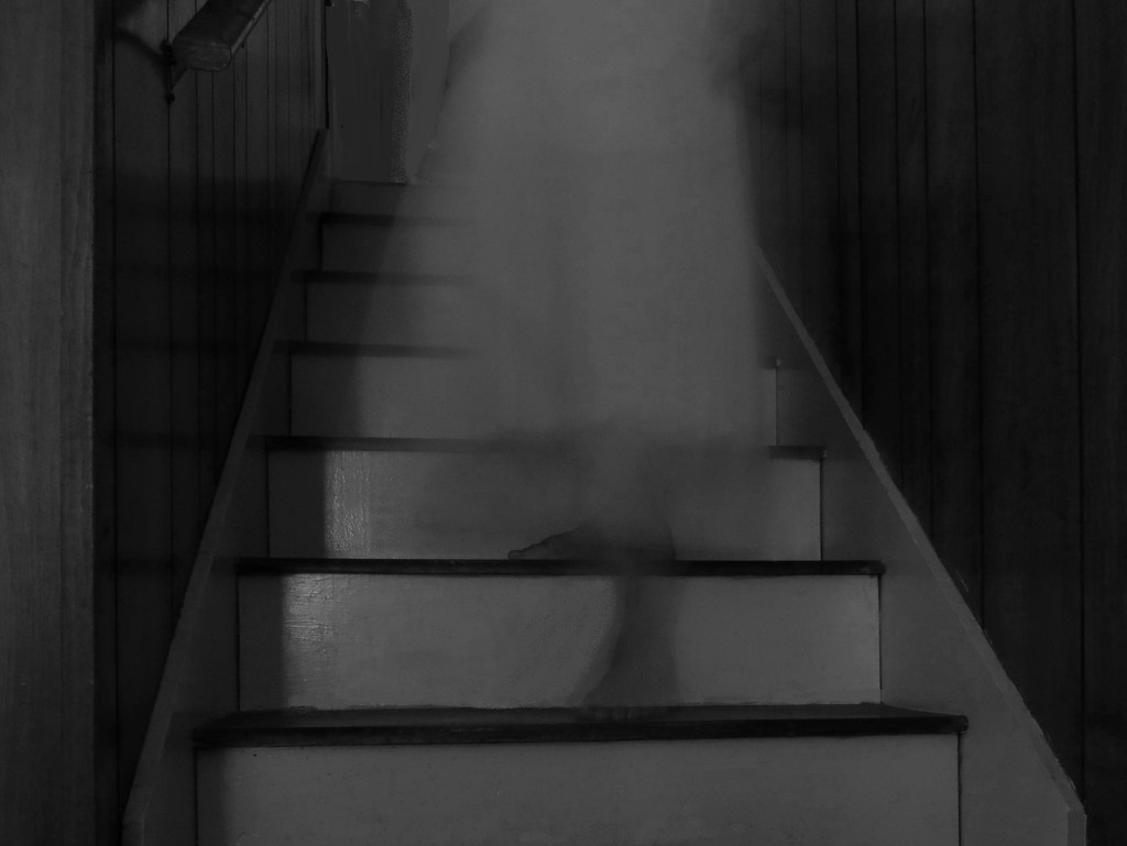 Hear Her Creeping Down the Stairs?! by grammyn